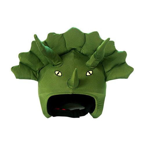 Funda casco Dinosaurio frontal