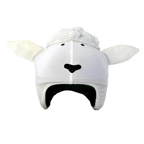 Funda casco Oveja blanca frontal