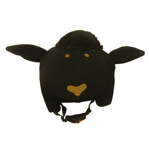 Funda casco Oveja negra frontal