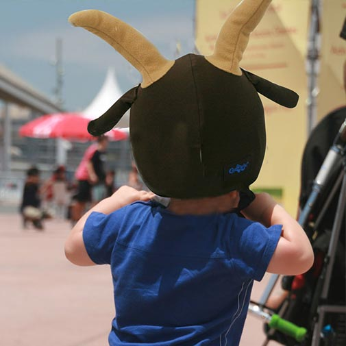 Funda casco Cabra Patinete