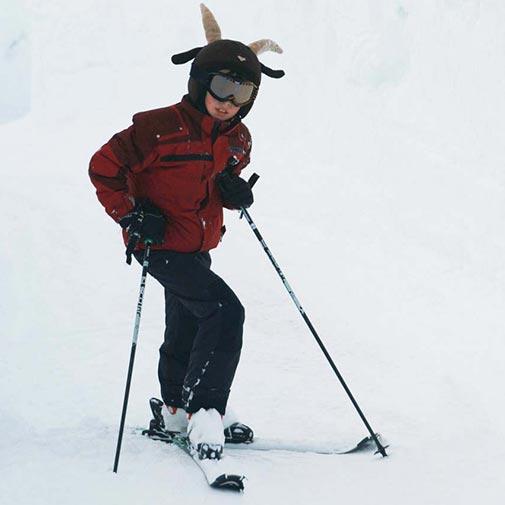 Funda casco Cabra esquí