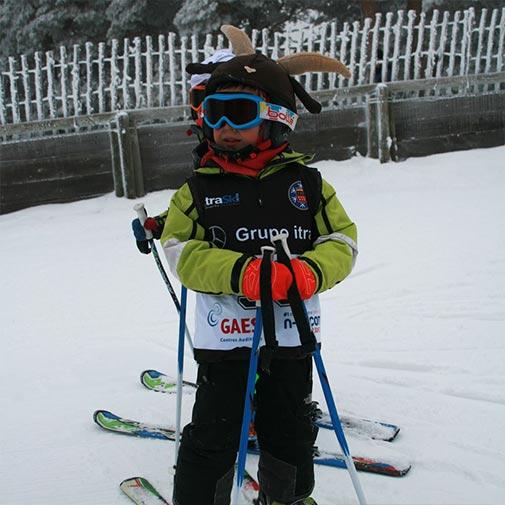 Funda casco Cabra ski