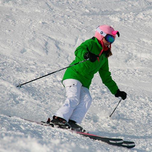 Funda casco Flamenco Ski descenso