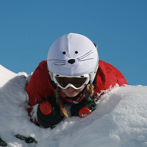 Funda universal para casco Foca usado en ski