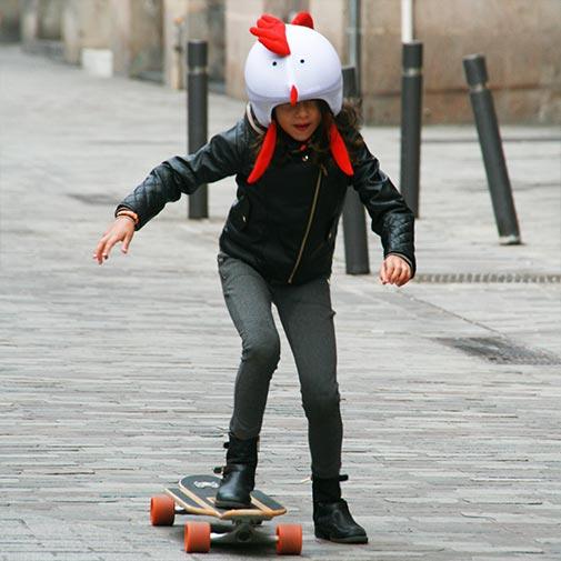 Funda casco Gallina Skate