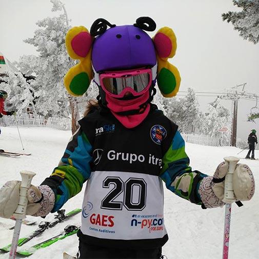 Funda casco Mariposa Ski