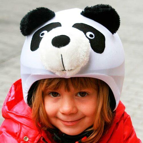 Funda casco Oso Panda