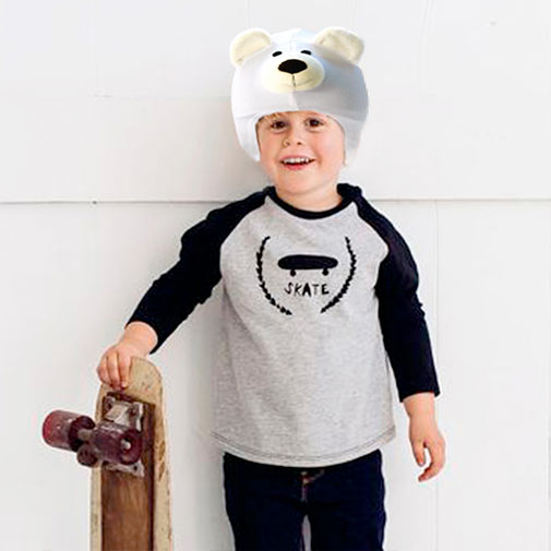 Funda casco Oso Polar Skate