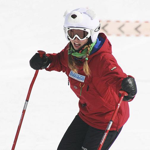 Funda casco Oso Polar para esquí