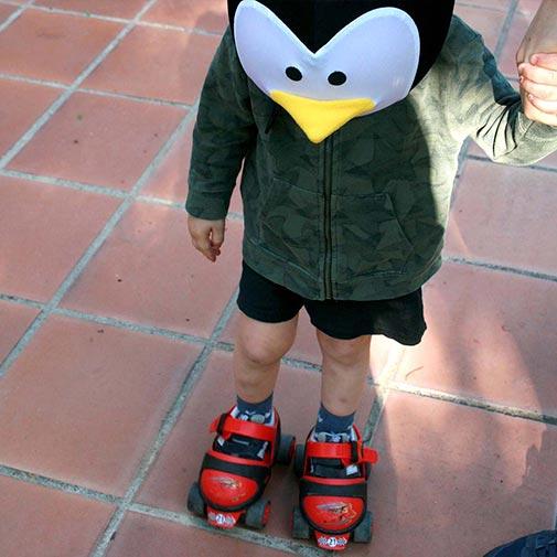 Funda casco Pingüino Patines