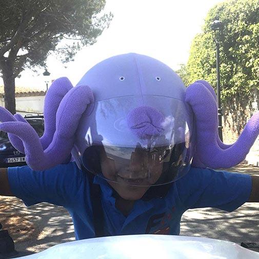 Funda casco Pulpo Scooter