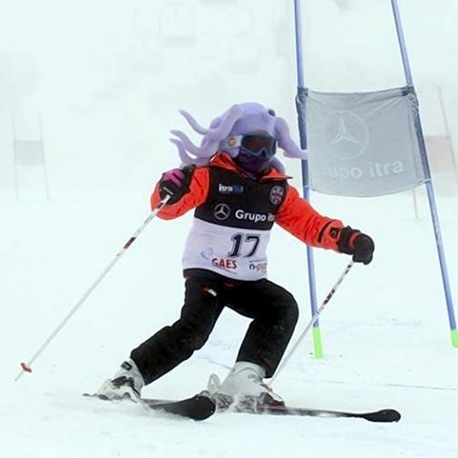 Funda casco Pulpo esquí