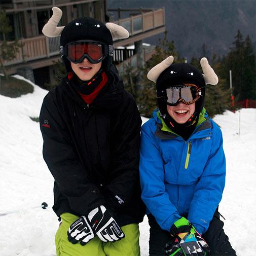 Funda casco universal de Toro usada en esquí