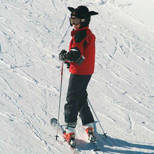 Funda casco oveja negra Ski