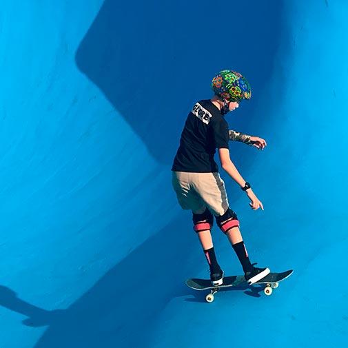 Funda casco Calaveras Maories Skate