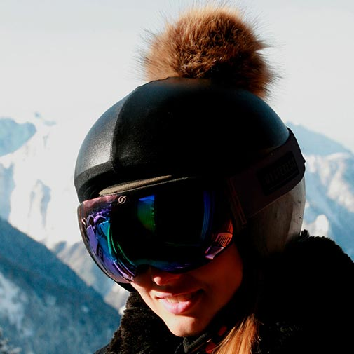 Funda casco Exclusive Negro gafas