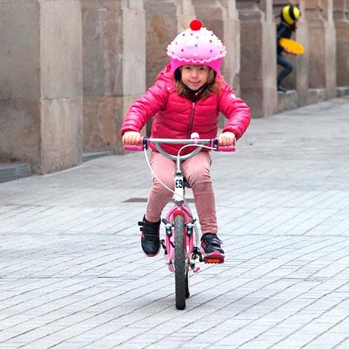 Funda casco Led Cup Cake Bike