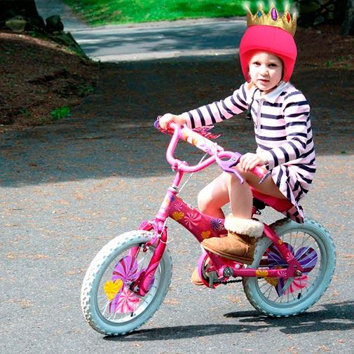 Funda casco Led Reina Bike