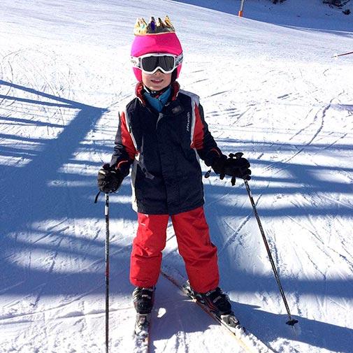 Funda casco Led Reina ski
