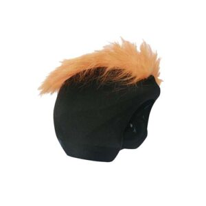 Funda casco Pelos Naranja