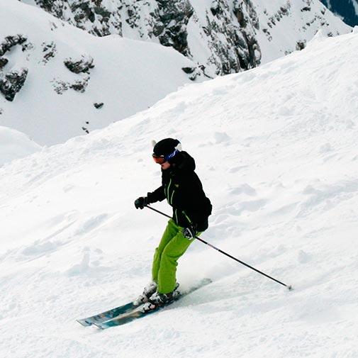 Funda casco Hueso ski descenso