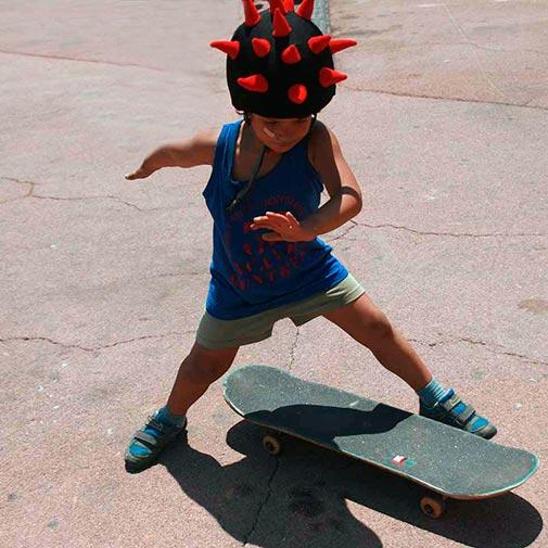 Funda casco Lord del mal Skate