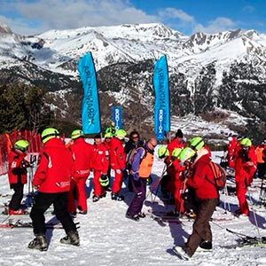 Funda casco custom Ski grupo