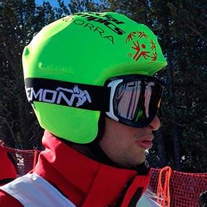 Funda casco custom Ski