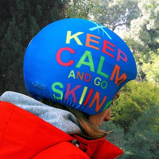 Funda casco Keep Calm 2
