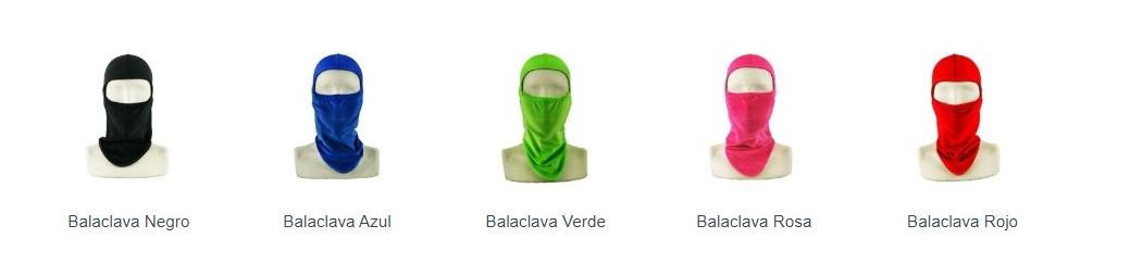 Modelos Balaclavas