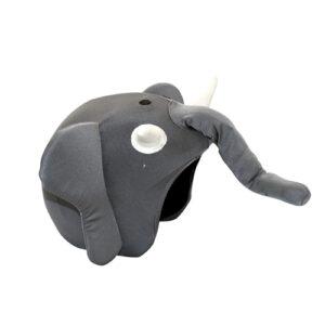 Funda casco forma de Elefante lateral