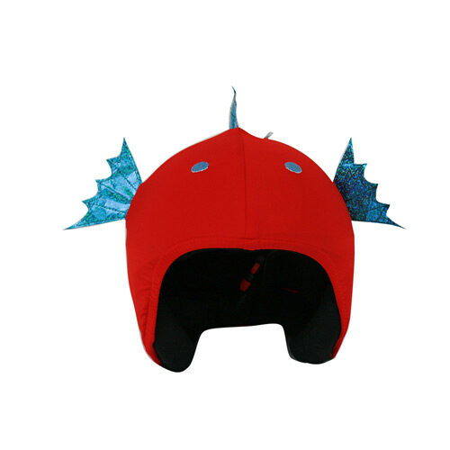 Funda casco Pez vista frontal