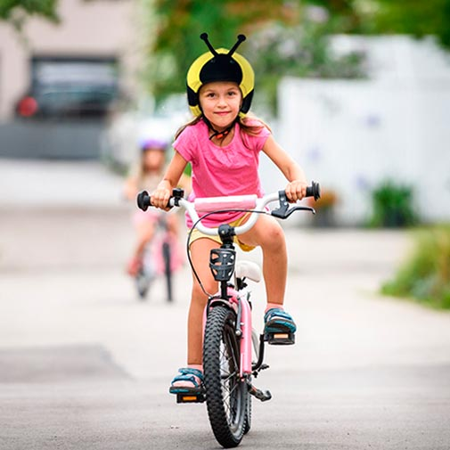 Funda casco Avispa Bicicleta