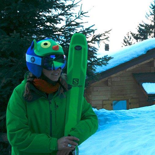 Funda casco Búho Esquí