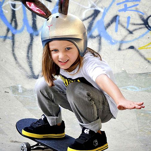 Funda casco de Conejo Skate