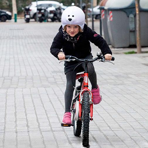 Funda casco Foca usado en Bicicleta