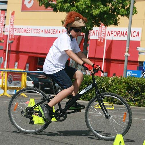 Funda casco León Bicicleta