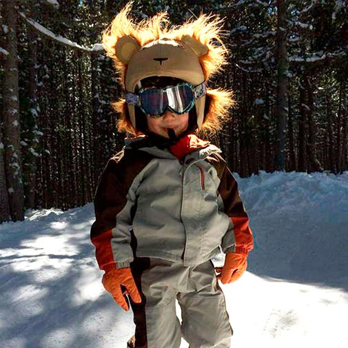 Funda casco León Ski