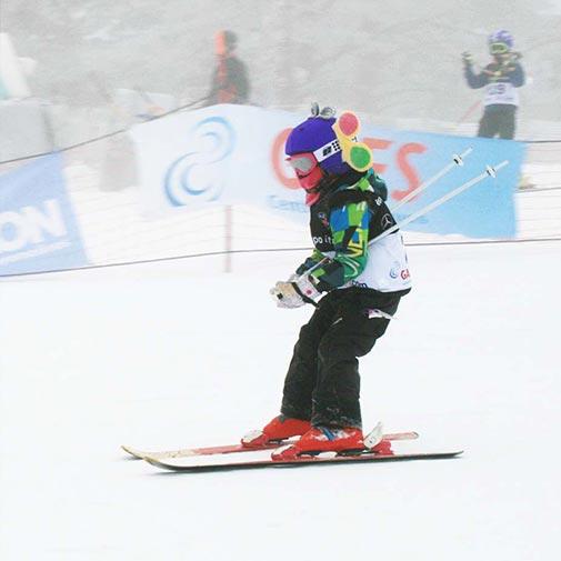 Funda casco Mariposa esquí