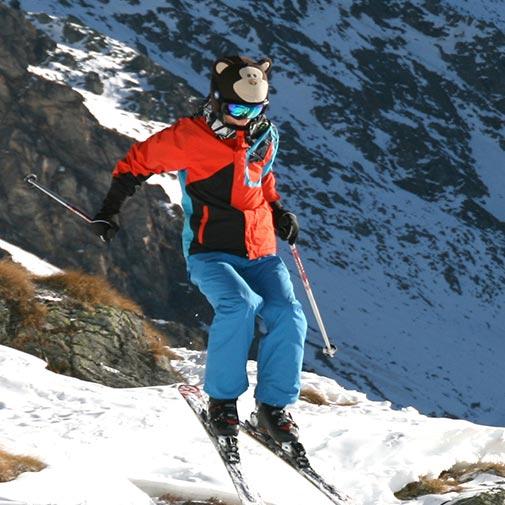 Funda casco Mono Ski Salto