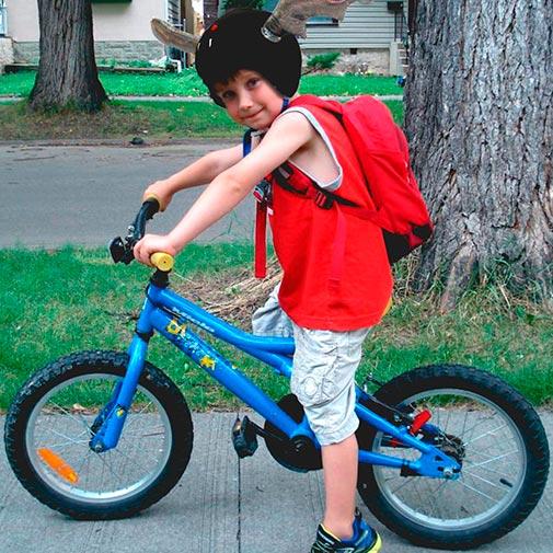 Funda casco Murciélago Bicicleta