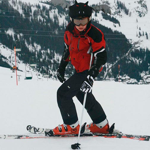Funda casco Murciélago Esquí