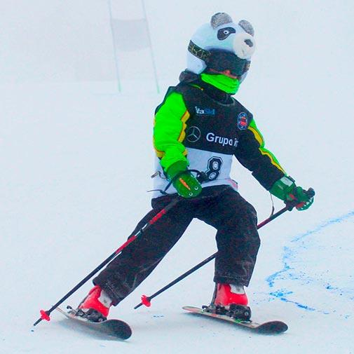 Funda casco Oso Panda Ski