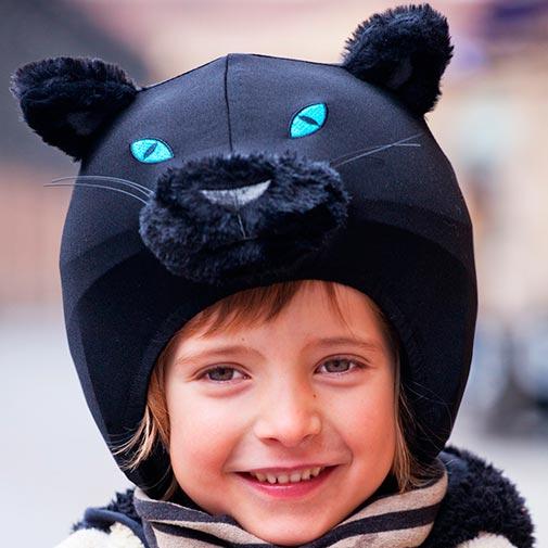 Funda casco Pantera niña
