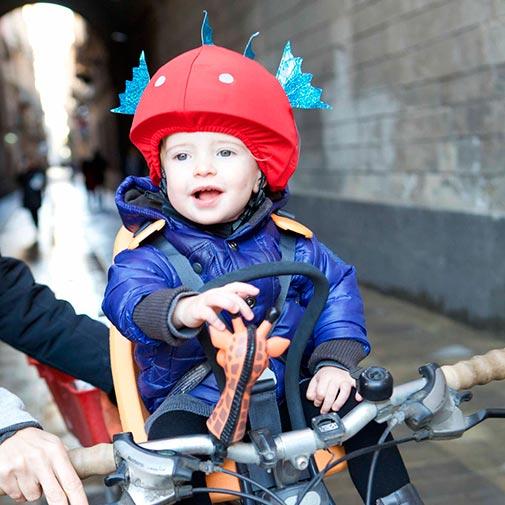 Funda para casco Pez Bici