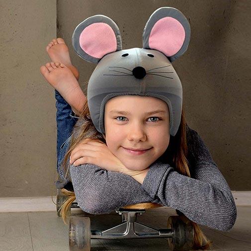 Funda casco de Ratón Skate