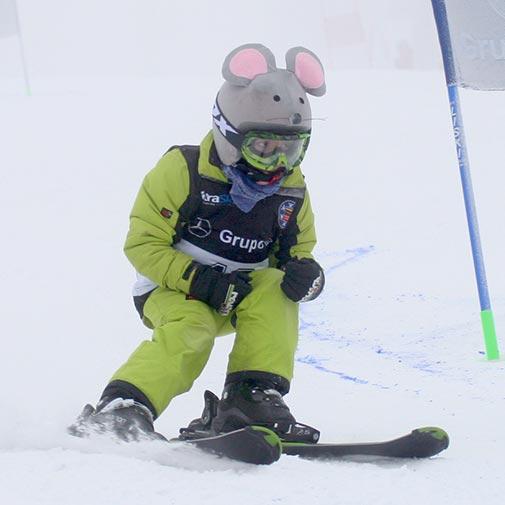 Funda casco de Ratón esquí