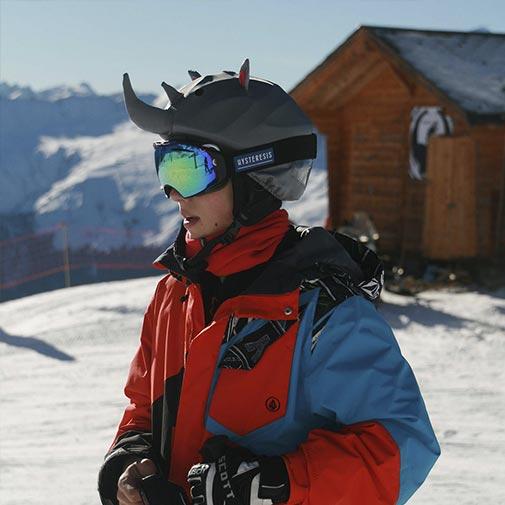 Funda casco para Esquí