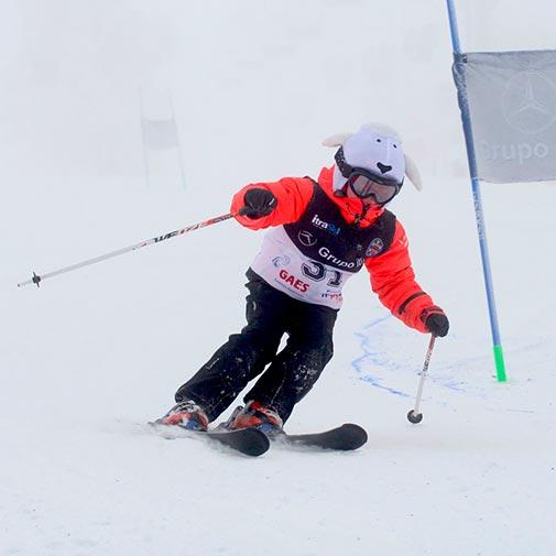 Funda casco oveja blanca Ski descenso