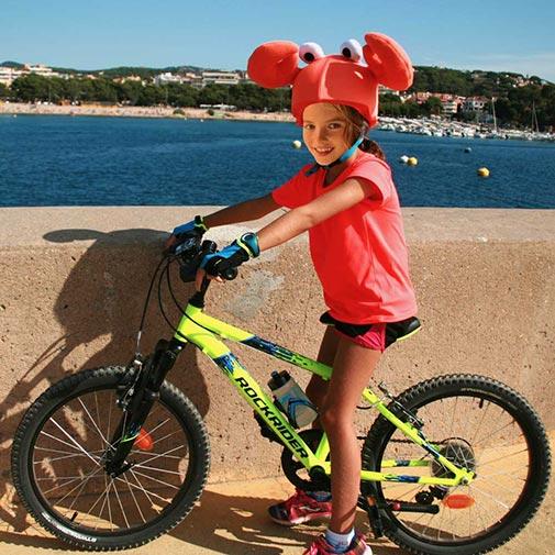 funda casco Cangrejo Bici